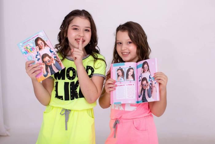 As irmãs Maria Eduarda e Maria Clara conquistaram milhões de fãs na internet