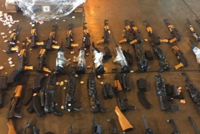 Na época, criminosos trouxeram os armamentos de Miami, nos Estados Unidos