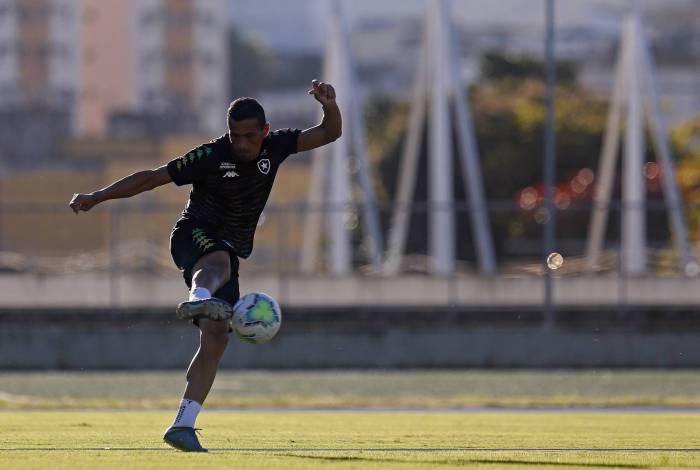 Cícero, jogador do Botafogo