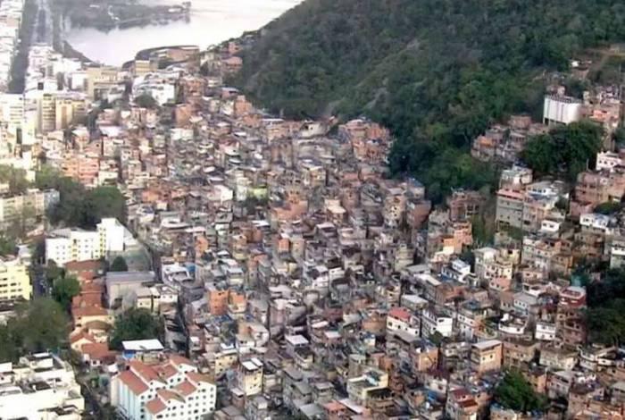 Favelas do Pavão-Pavãozinho e Cantagalo ficam na Zona Sul do Rio