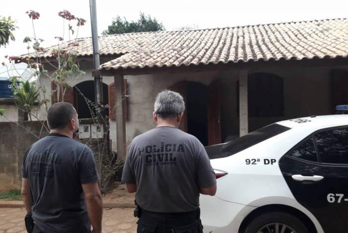Operação em Rio das Flores, no interior do Rio de Janeiro