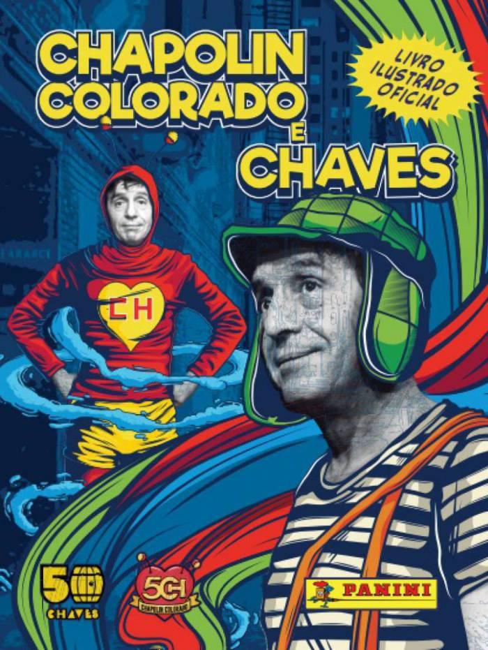 Chapolin e Chaves ganham álbum de figurinhas
