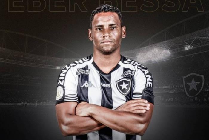Éber Bessa é o novo reforço do Botafogo