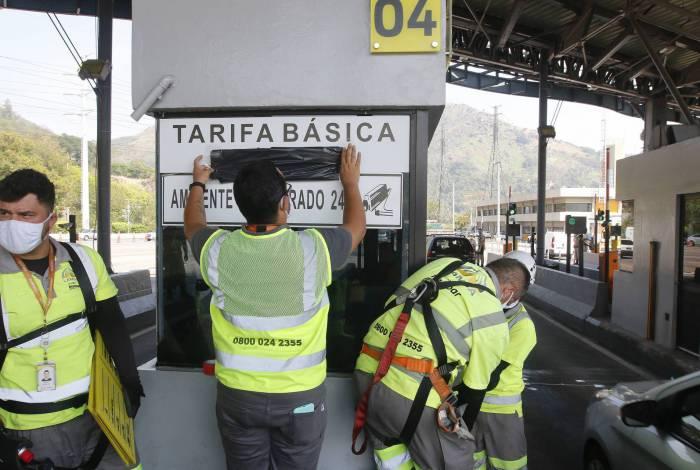 Em setembro, STJ autorizou a Prefeitura do Rio a retomar a Linha Amarela e pedágios foram liberados