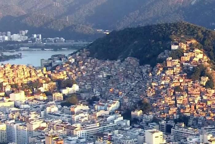 Favelas do Pavão-Pavãozinho e Cantagalo, na Zona Sul do Rio