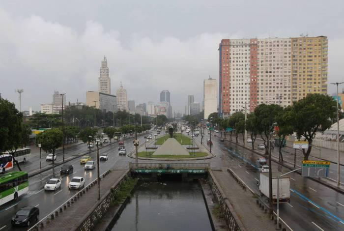 Chuva atinge a cidade do Rio nesta sexta-feira