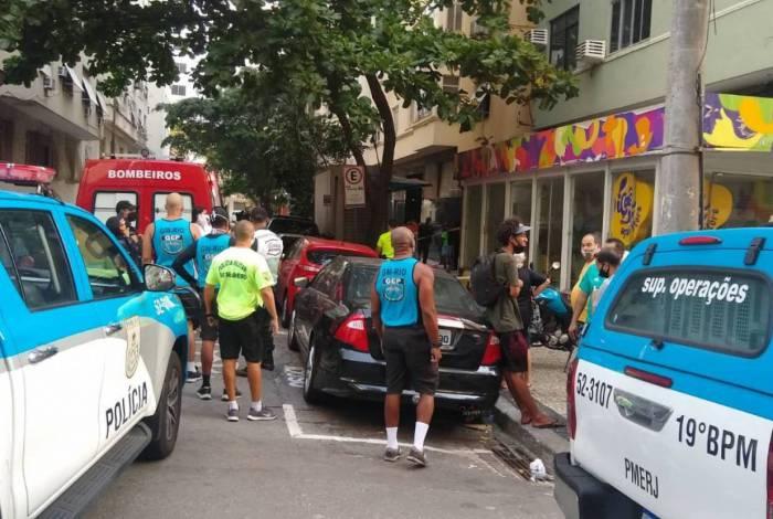 Crime aconteceu na Rua Aíres Saldanha, na Zona Sul
