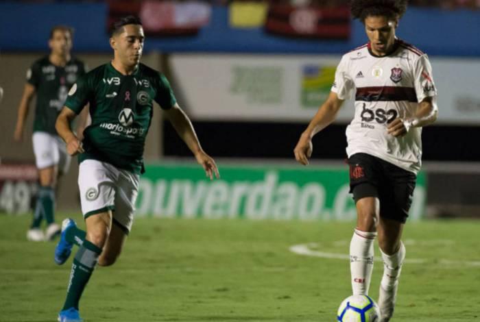 Último encontro entre ambos: empate em 2 a 2, no Serra Dourada, pelo Brasileiro-2019