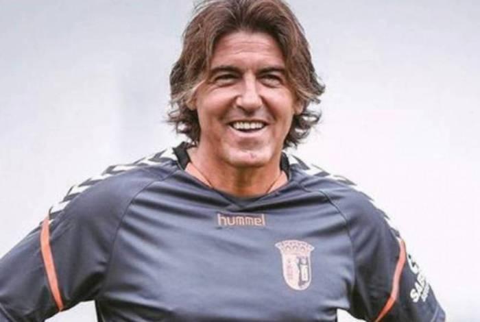Ricardo Sá Pinto completou 48 anos no último sábado e esteve no Braga na última temporada