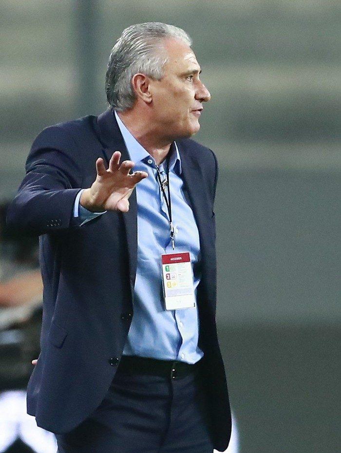 Tite, técnico da Seleção Brasileira