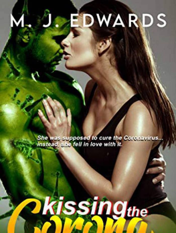 Capa do livro 'Kissing the Coronavirus'