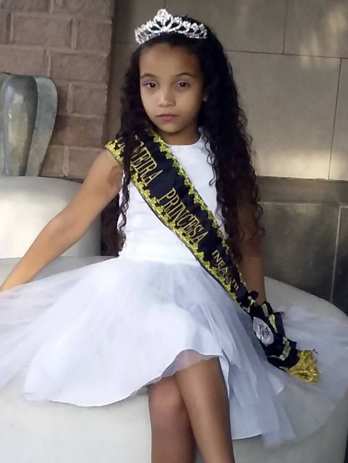 No ano que vem ela vai participar do Miss Brasil Beleza Brasileira
