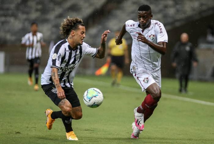 Fluminense ficou no empate com o Atlético-MG