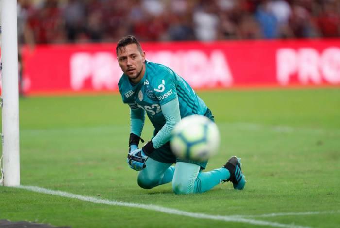 Rio, 28/07/2019, Flamengo x Botafogo, na foto gol do diego alves Foto de Gilvan de Souza / Agencia O Dia