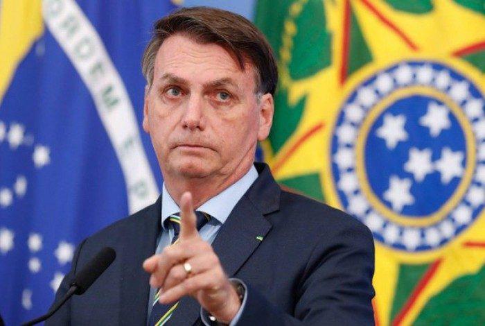 """Segundo Bolsonaro, """"não se justifica um bilionário aporte financeiro num medicamento que sequer ultrapassou sua fase de testagem"""""""