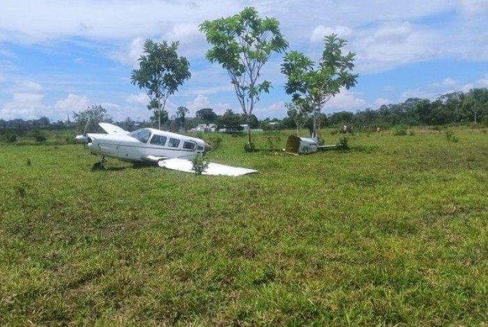 Avião cai no Acre