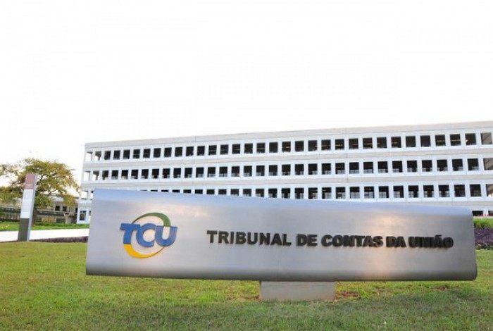 Fachada do Tribunal de Contas da União (TCU)