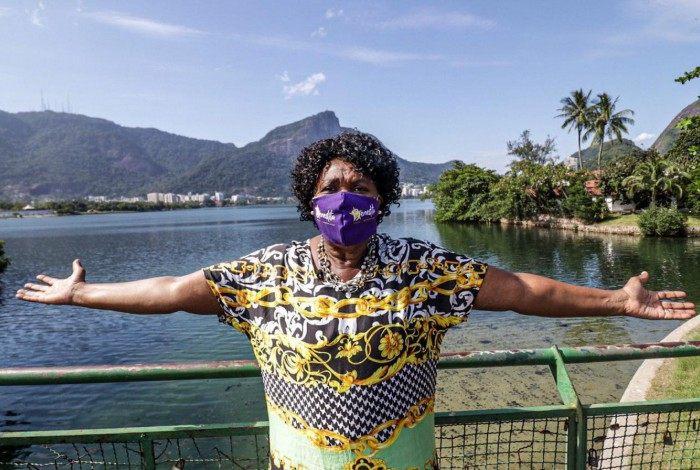 Benedita da Silva é candidata à Prefeitura do Rio pelo PT