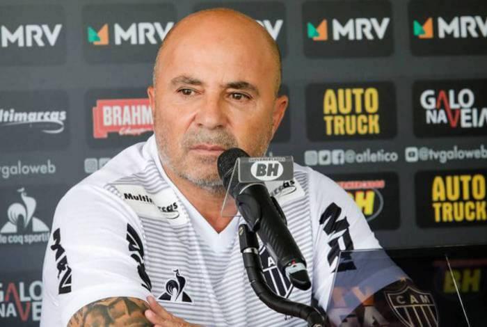 Jorge Sampaoli tem contrato com o Atlético-MG até o fim de 2021