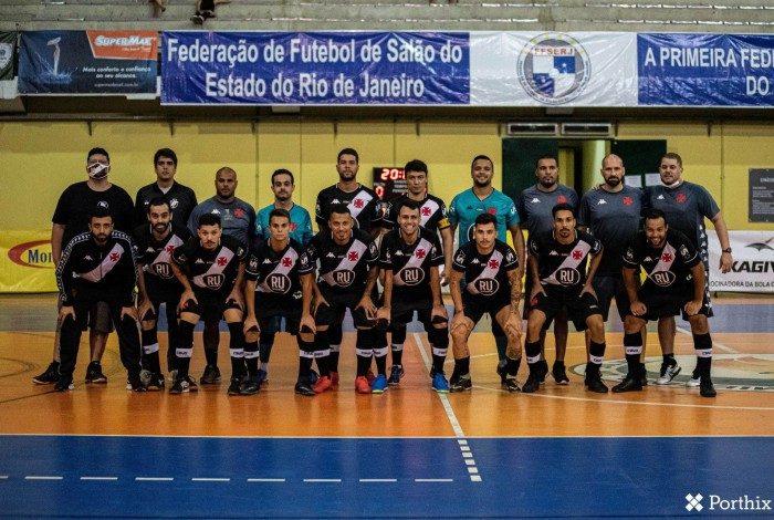 Time profissional do Futsal Masculino do Vasco @futsalvasco