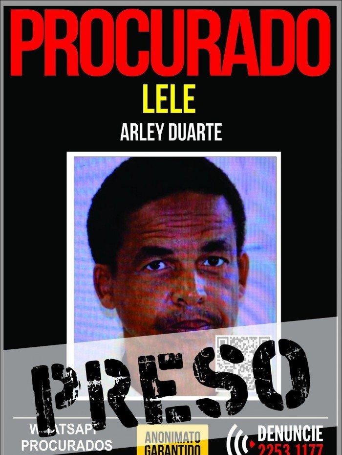 Arley Duarte, 49 anos, foi preso nesta terça-feira