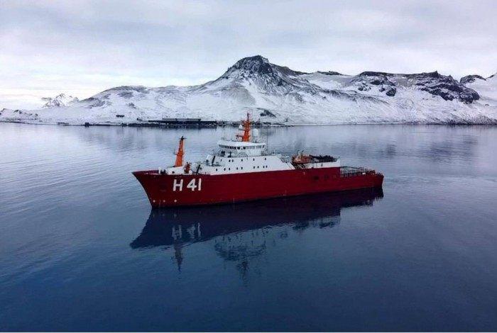 A Antártida era o único continente livre da covid-19