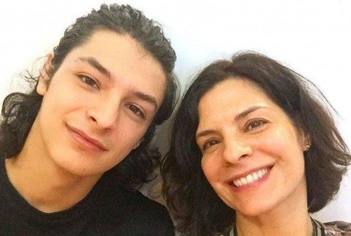 Helena Ranaldi e o filho, Pedro Waddington