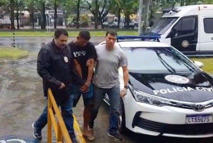 Agressor foi preso horas depois das agressões