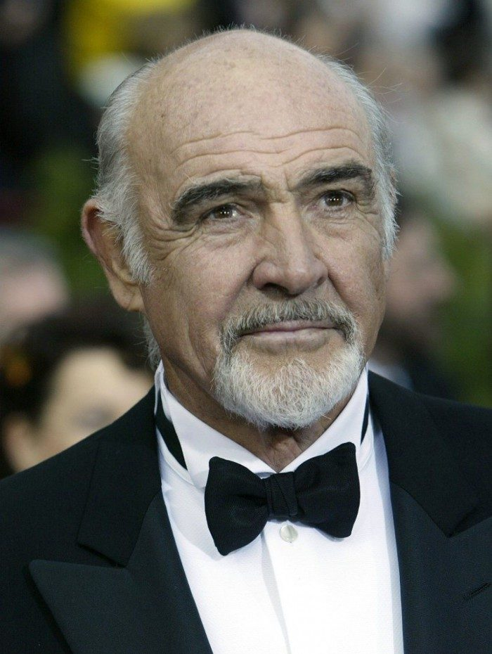 Sean Connery morreu na manhã deste sábado (31)