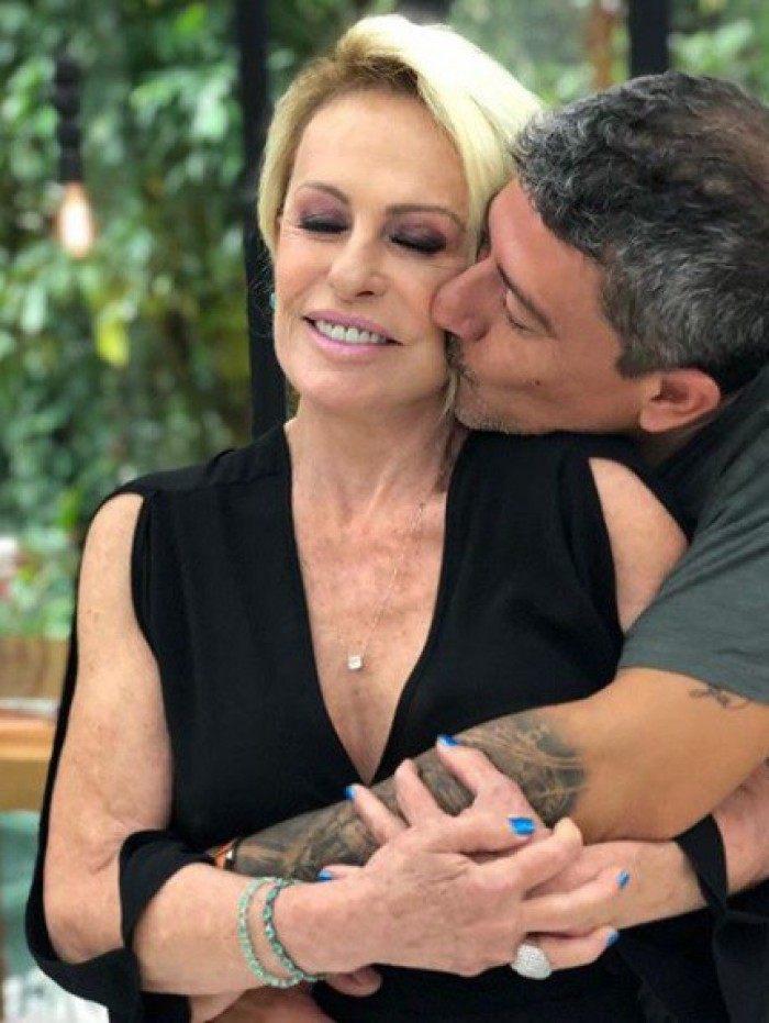 Ana Maria Braga posta emocionante homenagem ao Tom Veiga