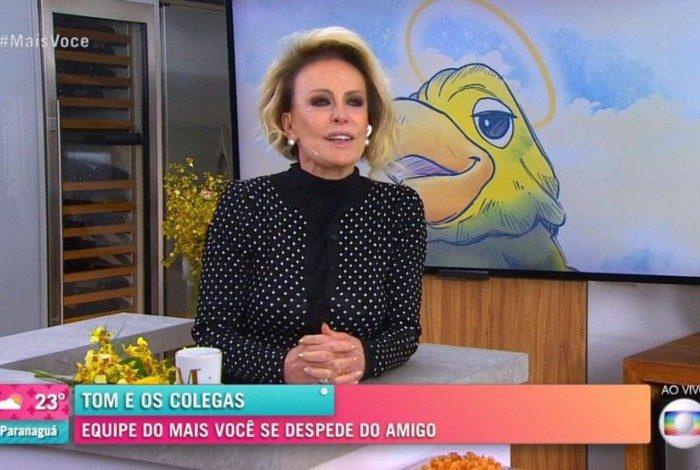 Ana Maria Braga agradece apoio e carinho que recebeu após a morte de Tom Veiga, o Louro José