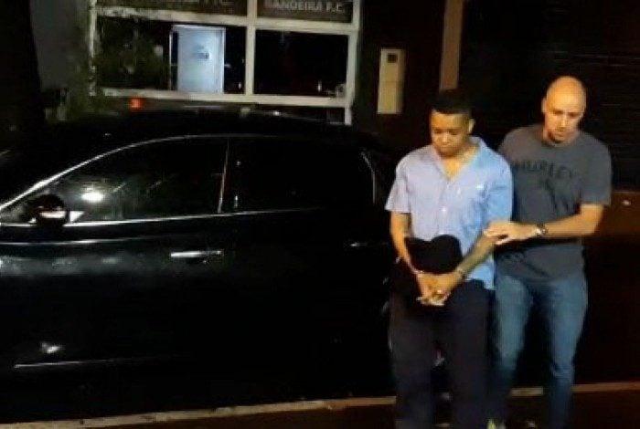 TK foi preso na noite desta terça-feira