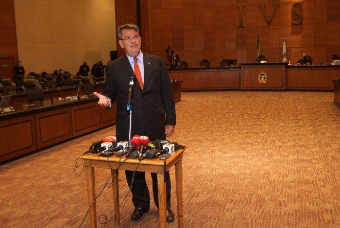Presidente do TJRJ, Cláudio de Mello Tavares