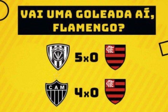 Memes: Atlético-MG e Flamengo