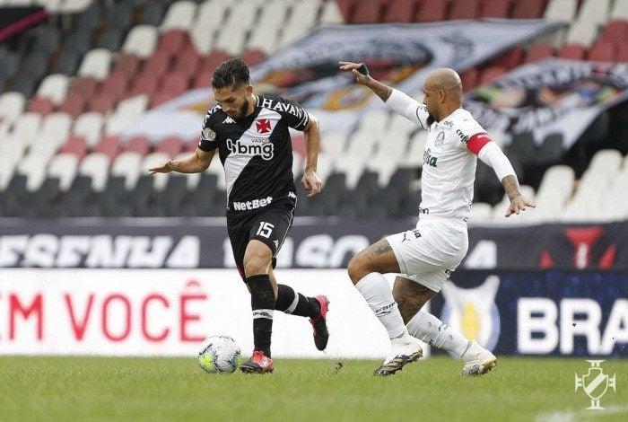 Parte da torcida, inclusive do próprio Palmeiras, não foi solidária a Felipe Melo