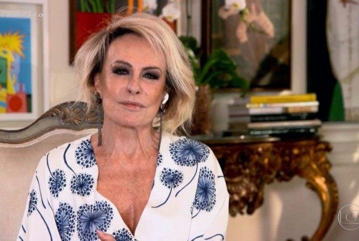 Ana Maria em entrevista ao 'Fantástico'