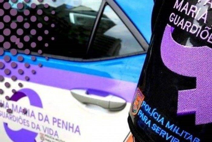 Patrulha Maria da Penha prendeu o suspeito que teria agredido a companheira
