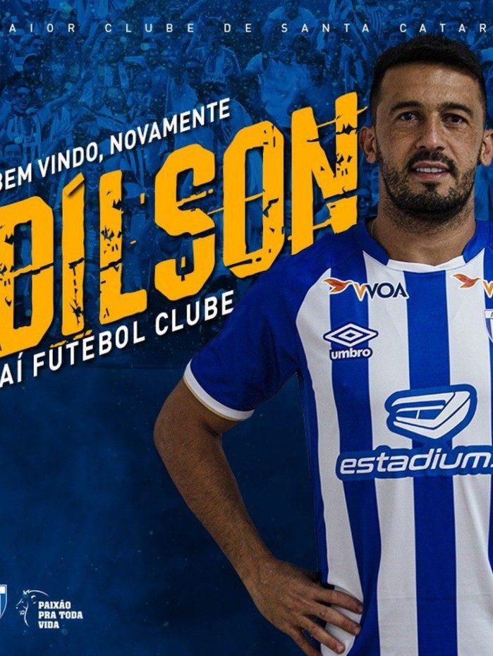 Edilson é o mais novo reforço do Avaí para o Brasileirão da Série B