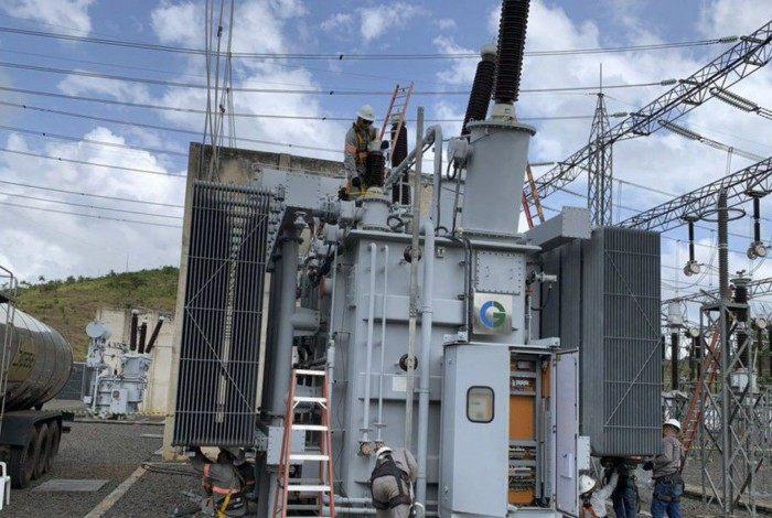 Ministro de Minas e Energia, Bento Albuquerque, realizou uma visita técnica à subestação de Laranjal do Jari, no interior do Amapá, da empresa Linhas Macapá de Transporte e Energia, a fim de acompanhar as ações de restabelecimento total da energia no estado.