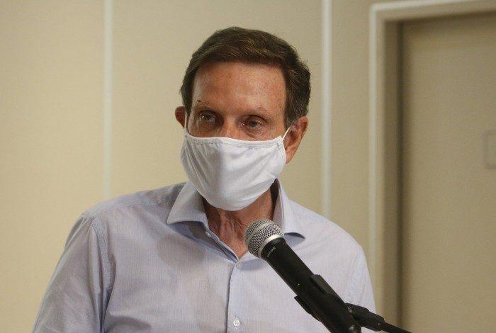 Prefeito do Rio foi acusado pelo MPE de abuso do poder político e conduta vedada por participar dos 'Guardiões do Crivella'