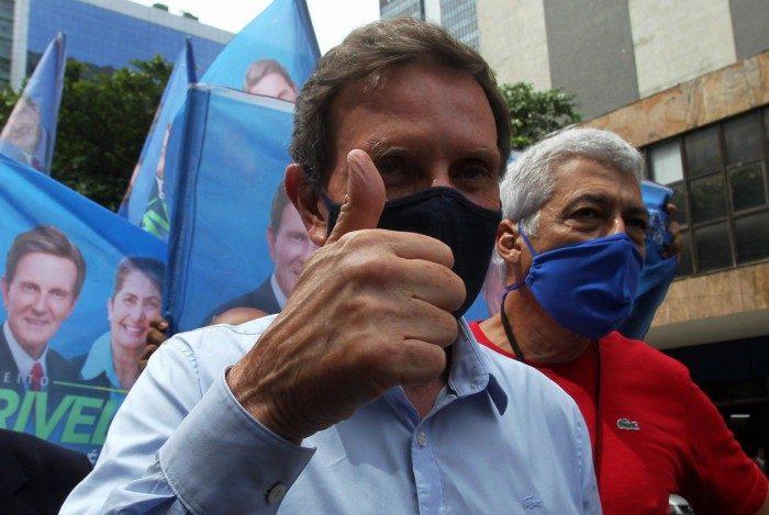Eleiçoes 2020 - Candidato a reeleição, Marcello Crivella visita a Saara