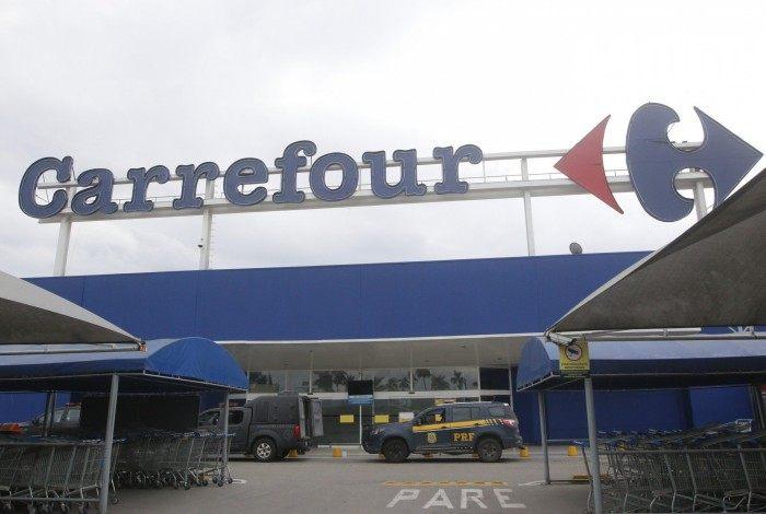 Fachada do Carrefour em uma das filiais no Rio de Janeiro