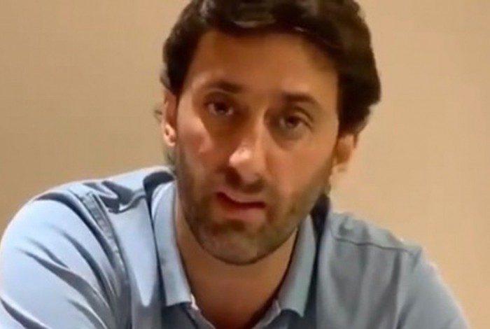 Diego Milito postou vídeo confirmando que deixará cargo