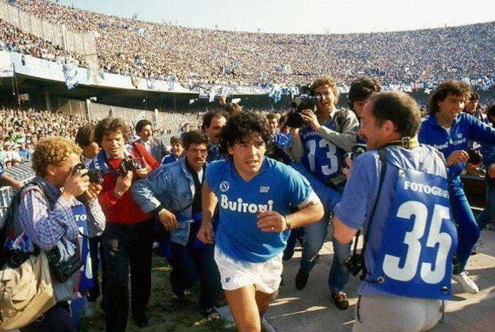 Maradona é o maior ídolo da história do Napoli