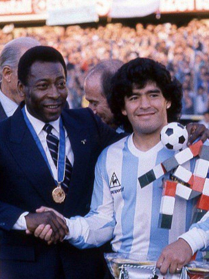 Apesar da rivalidade, Pelé e Maradona tiveram sólida amizade