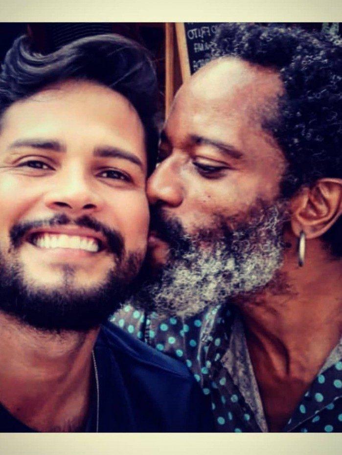 Helder Mendes e Flávio Bauraqui