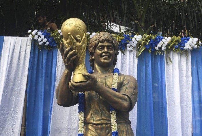 Velório de Maradona começou em Buenos Aires