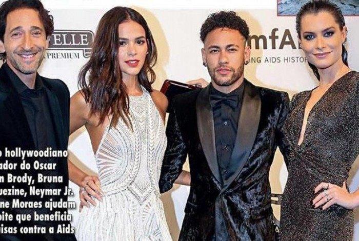 Alinne Moraes diz que foto ao lado de Neymar é falsa