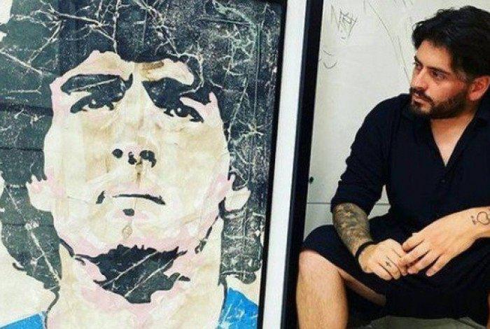 Filho de Maradona não pôde ir ao velório do pai