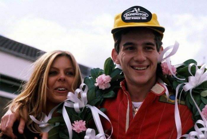 Lilian Vasconcellos e Ayrton Senna foram casados por dois anos